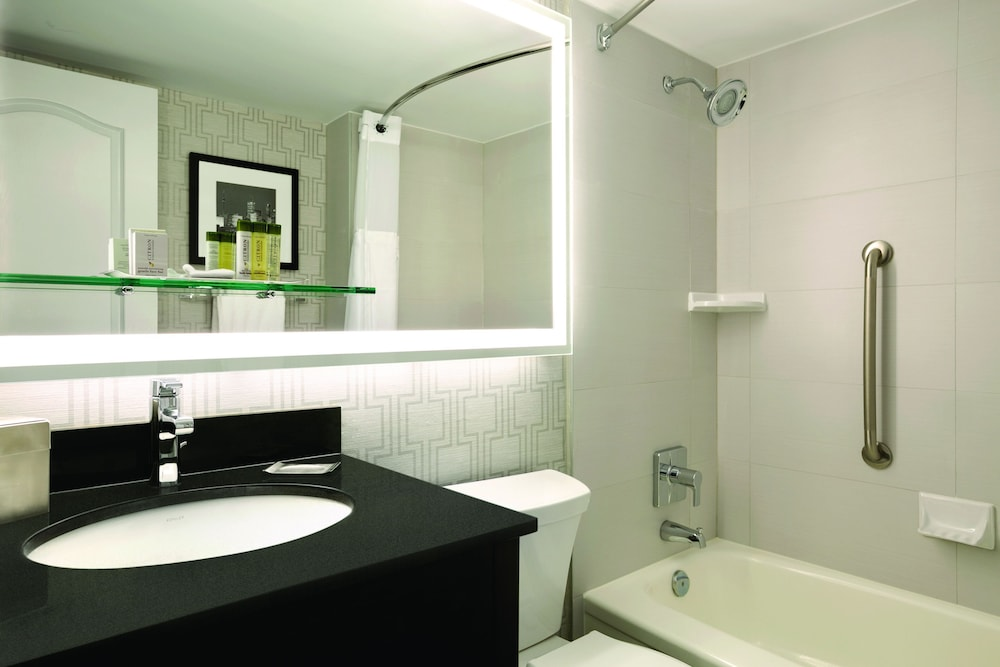 Bathroom, DoubleTree by Hilton Hotel Toronto Downtown