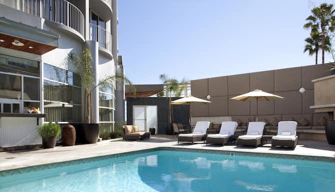 Best Views Los Angeles Suite King Boutiqe Hotels La Suite King