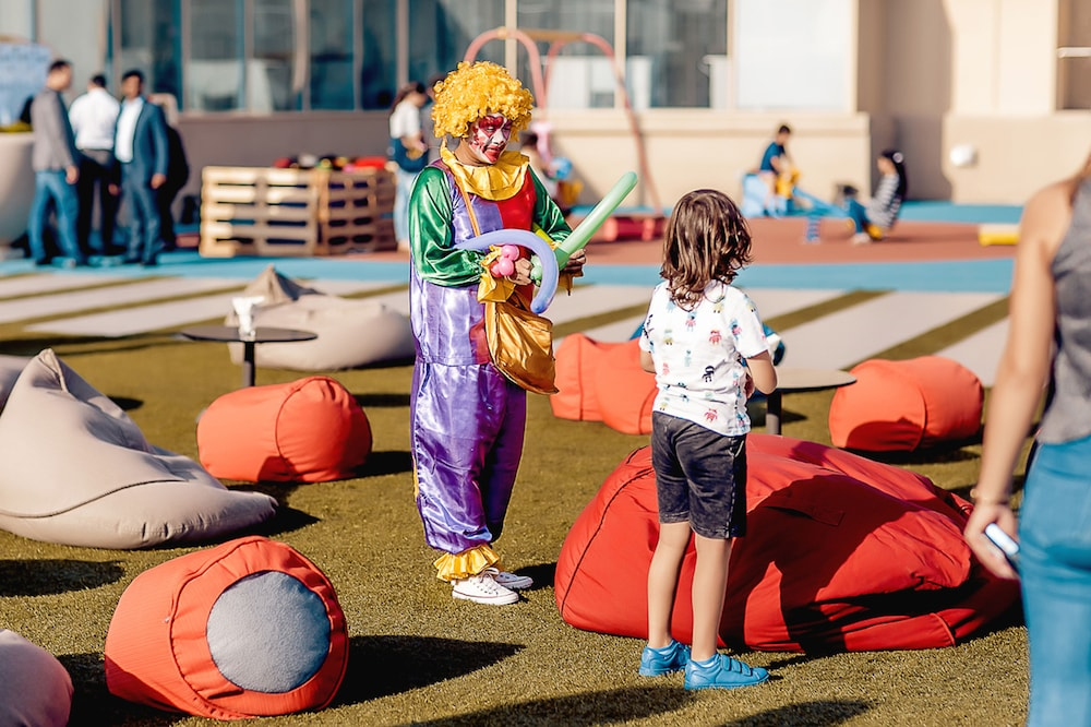 Children's Play Area - Outdoor, Radisson Blu Hotel, Dubai Deira Creek