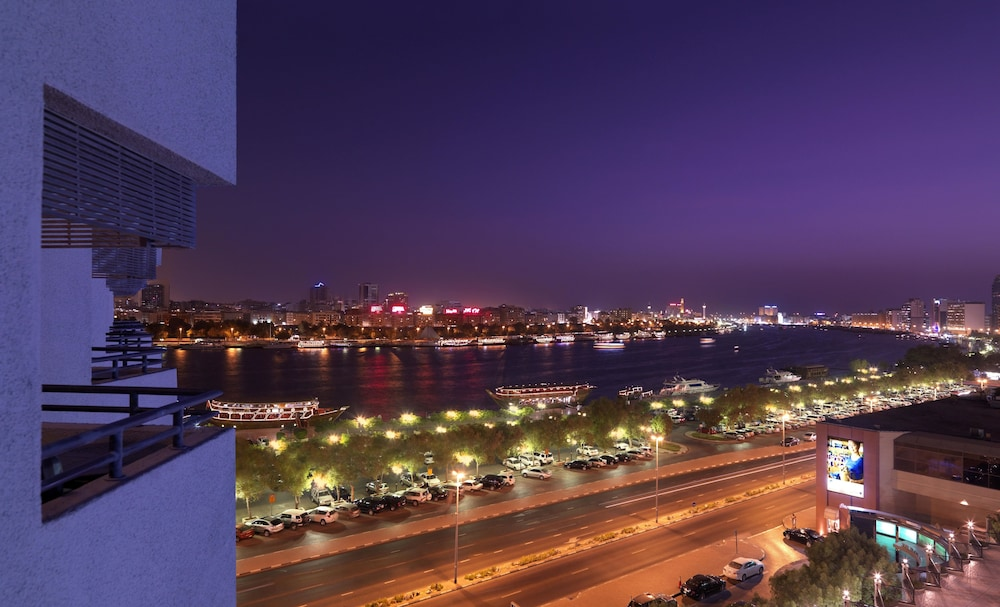 View from Property, Radisson Blu Hotel, Dubai Deira Creek