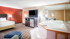 In-room safe, iron/ironing board, free cribs/infant beds, free WiFi