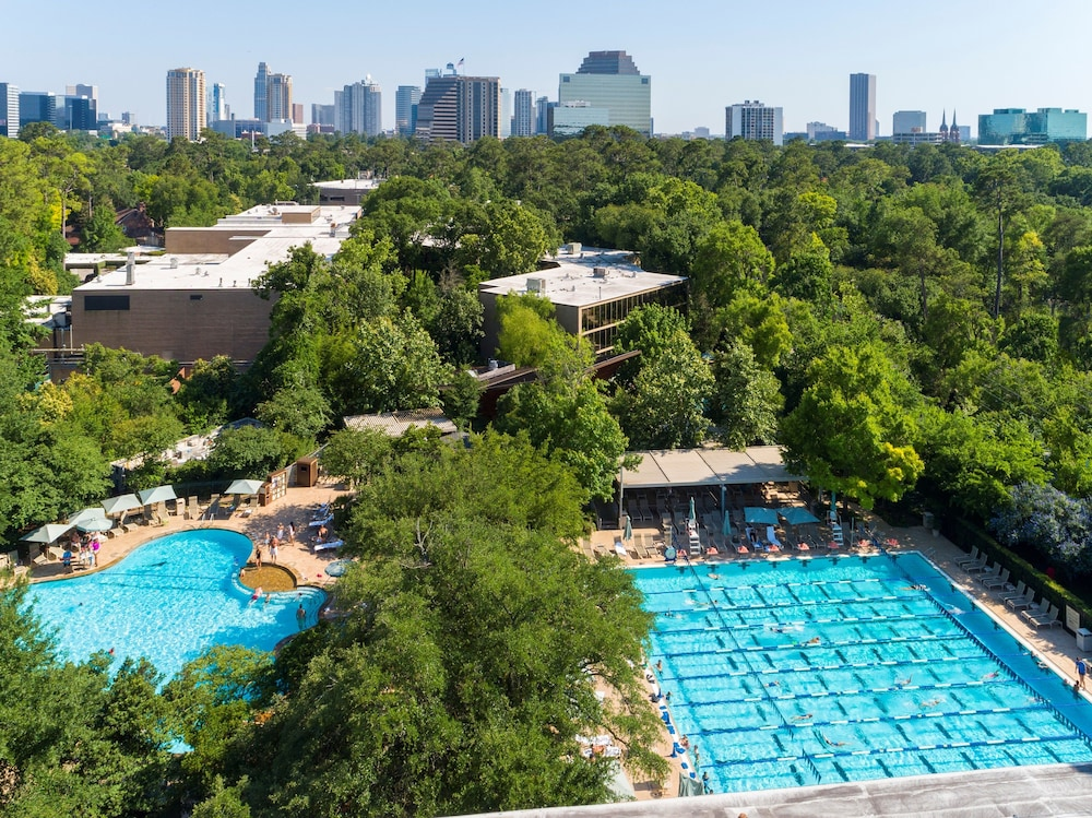 Aerial View, The Houstonian Hotel, Club & Spa