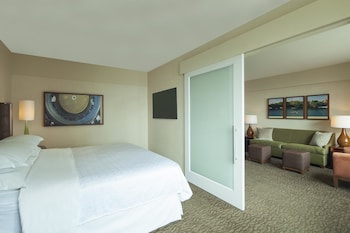 Executive Suite, 1 King Bed with Sofabed - Guestroom