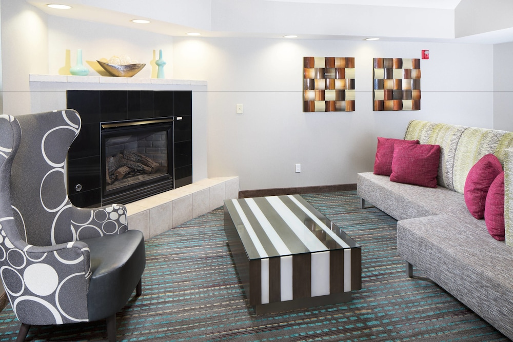 Fireplace, Residence Inn by Marriott Denver Downtown