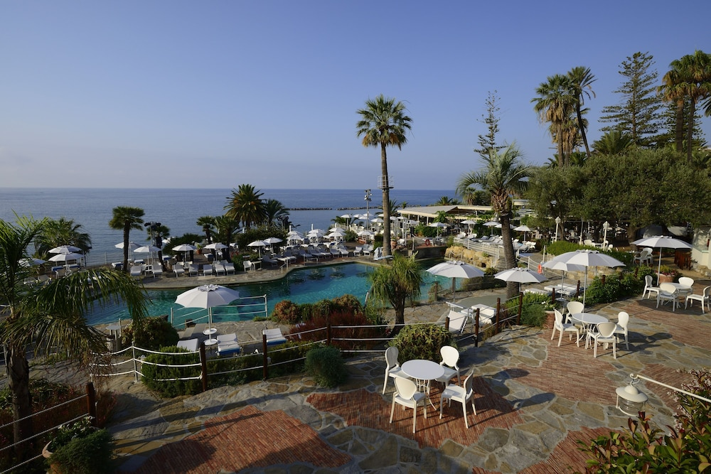 Aerial View, Royal Hotel San Remo