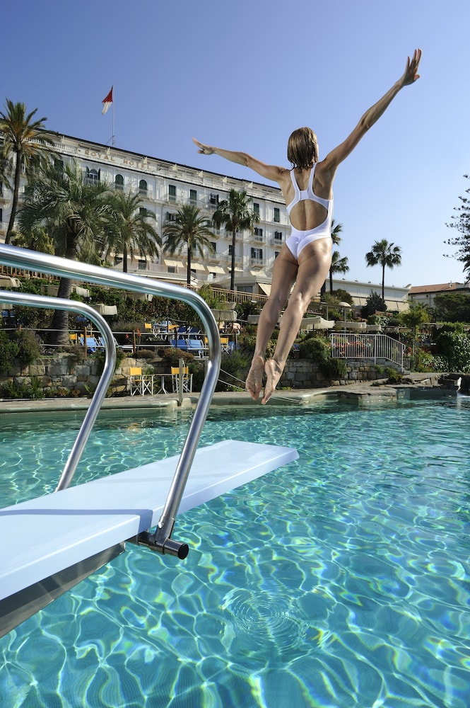 Outdoor Pool, Royal Hotel San Remo