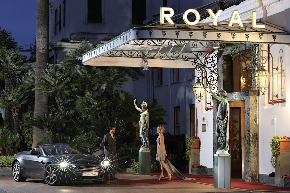 Property Entrance, Royal Hotel San Remo