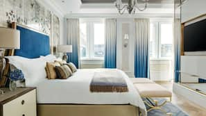 Allergiatestatut vuodevaatteet, minibaari, tallelokero huoneessa