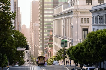 600 Stockton at California Street, Nob Hill, San Francisco, CA 94108, USA.