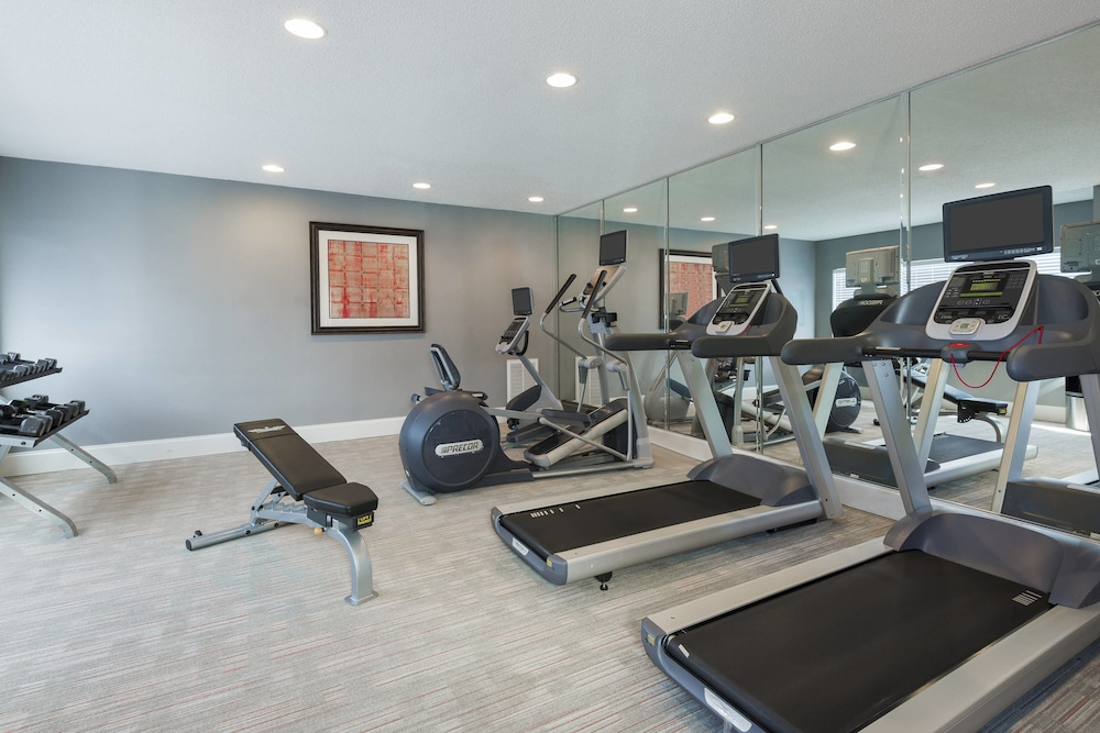 Fitness Facility, Residence Inn by Marriott Charlotte University Research Park