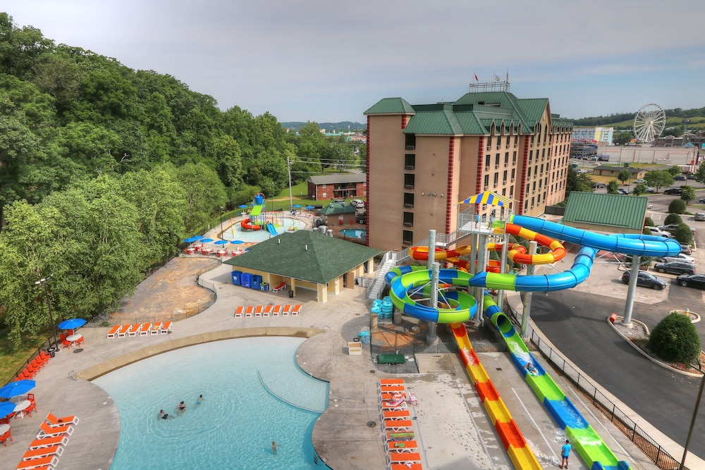 View from Property, Country Cascades Waterpark Resort