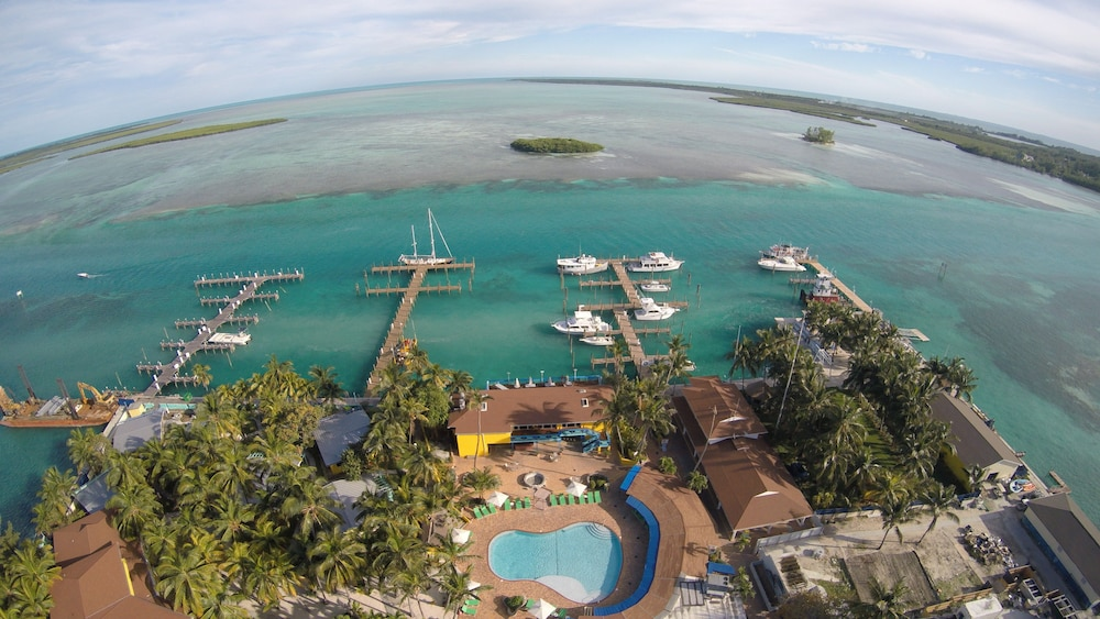Aerial View, Bimini Big Game Club Resort & Marina