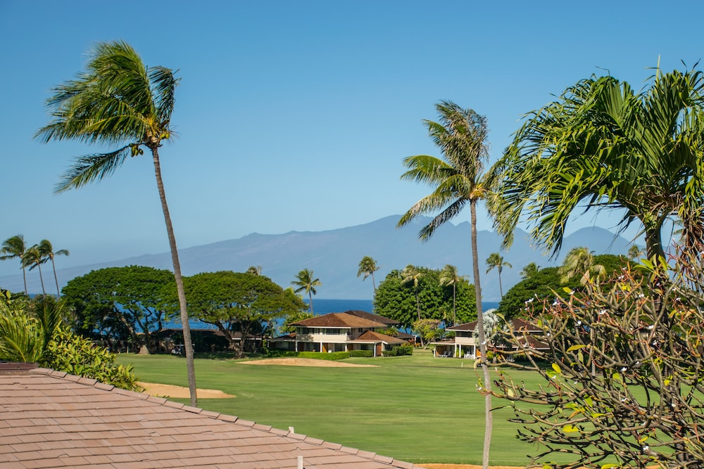 Balcony View, Kaanapali Maui at the Eldorado by Outrigger