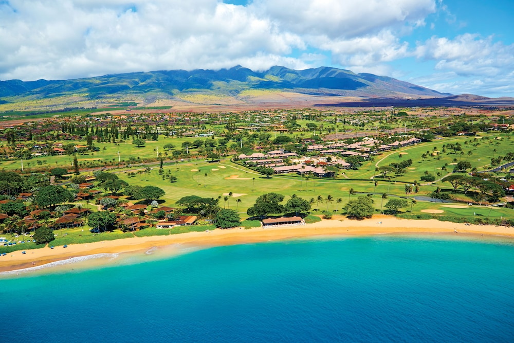 Aerial View, Kaanapali Maui at the Eldorado by Outrigger