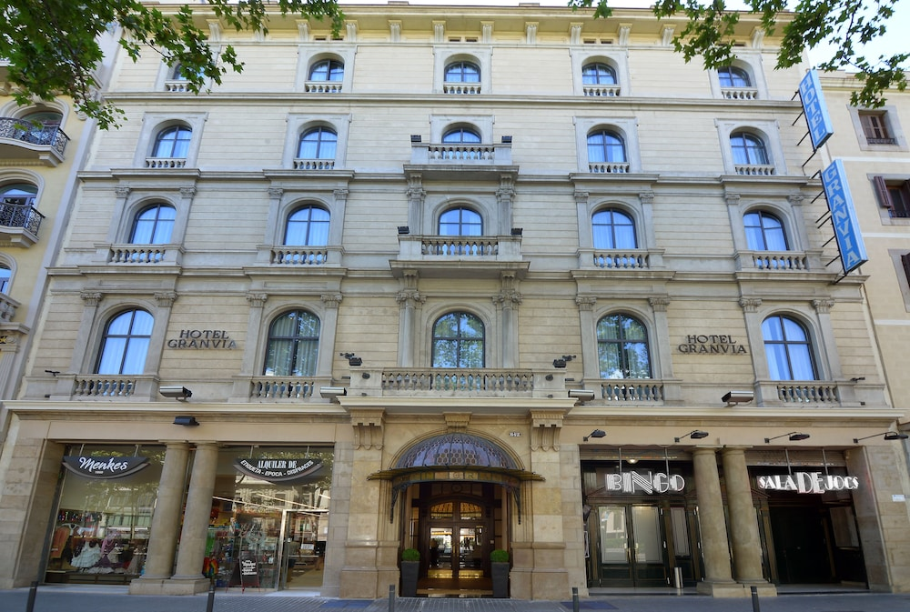 Front of Property, Hotel Granvia