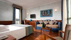 Biancheria da letto di alta qualità, materassi Tempur-Pedic, minibar