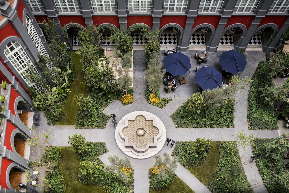 Aerial View, Four Seasons Hotel Mexico City