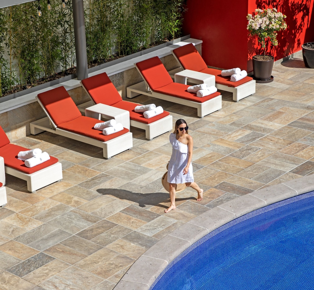 Outdoor Pool, Four Seasons Hotel Mexico City