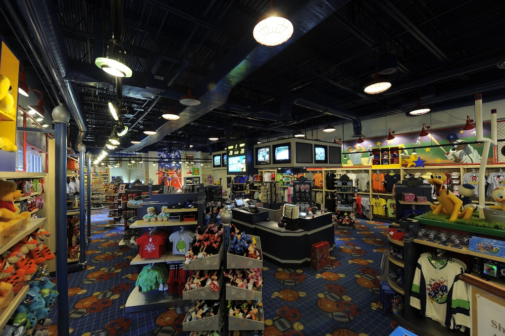 Interior, Disney's All-Star Sports Resort