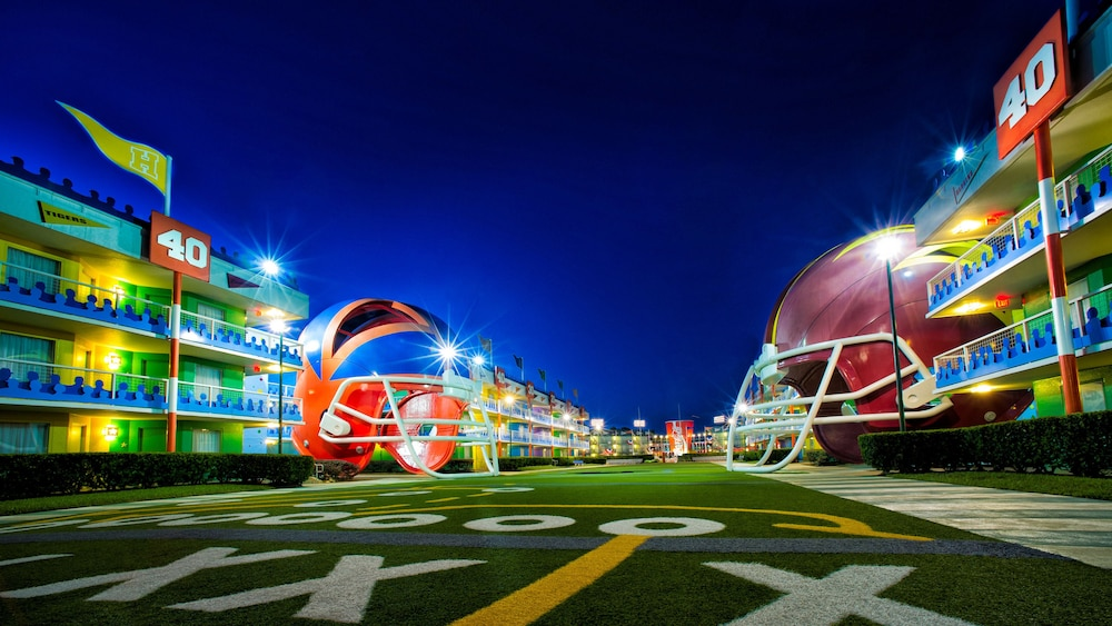 Exterior, Disney's All-Star Sports Resort