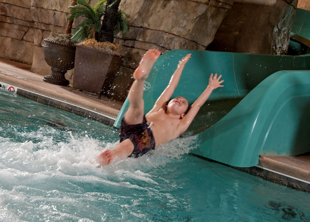 Waterslide, Welk Resorts Branson Hotel
