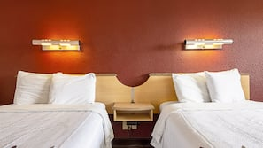 In-room safe, desk, blackout drapes, bed sheets