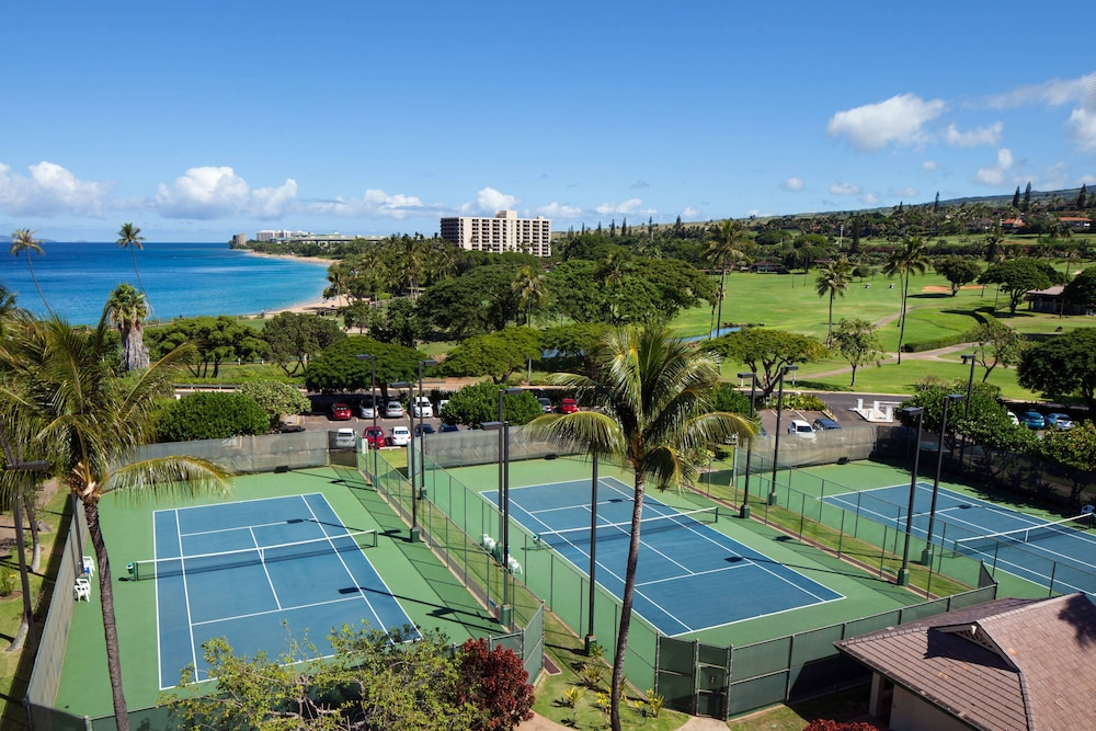 Tennis Court, Sheraton Maui Resort & Spa