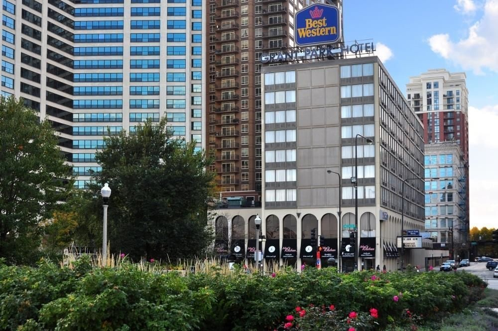 Best western grant park hotel in chicago hotel rates for Hotel chicago hotel