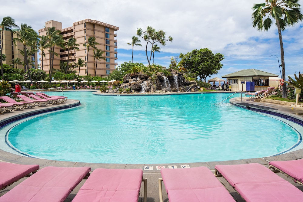 Outdoor Pool, Kaanapali Beach Club Resort by Diamond Resorts