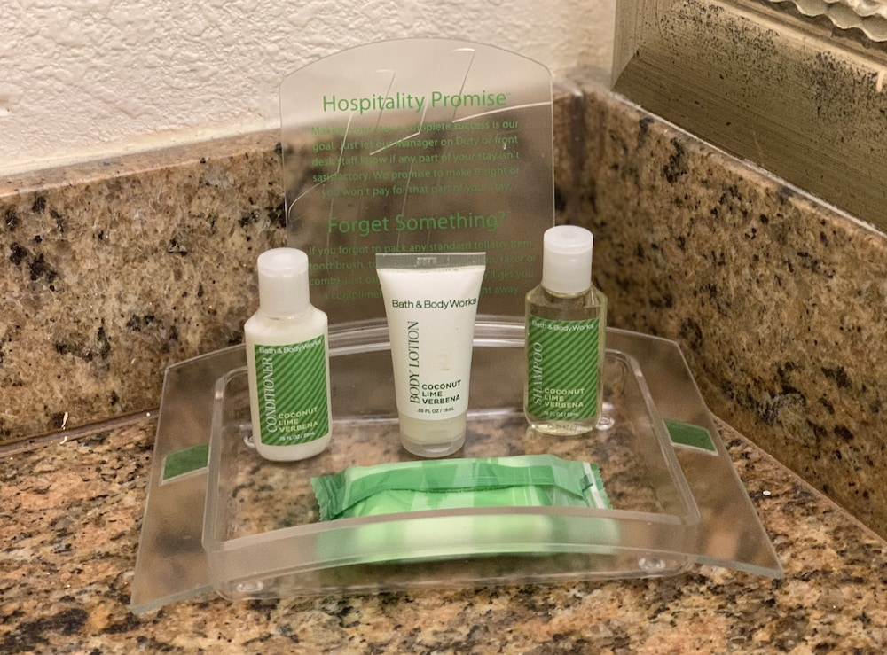 Bathroom Amenities, Holiday Inn Port of Miami - Downtown