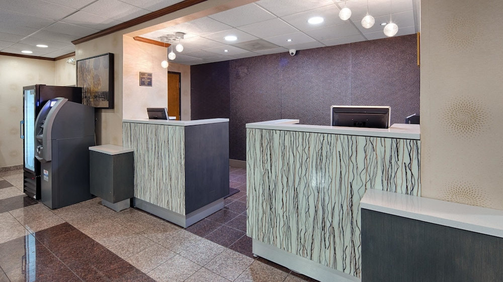 Reception, Best Western Plus Richmond Airport Hotel