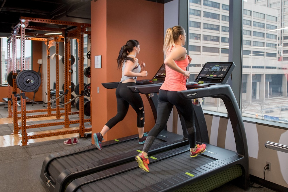 Fitness Facility, Cleveland Marriott Downtown at Key Tower