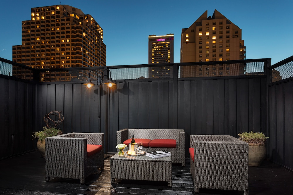 Terrace/Patio, Hotel Union Square