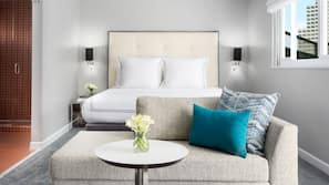 Premium bedding, down comforters, in-room safe, iron/ironing board