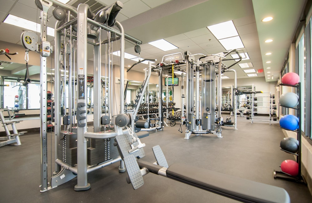 Fitness Facility, Crowne Plaza Baton Rouge, an IHG Hotel