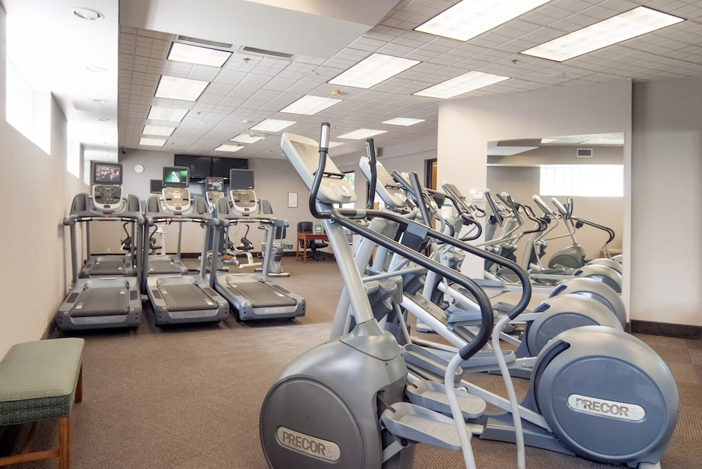 Gym, Crowne Plaza Baton Rouge, an IHG Hotel