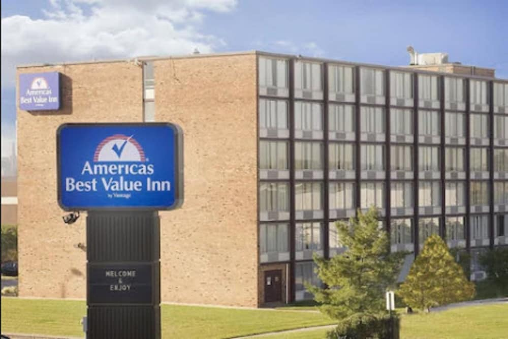 Front of Property, Americas Best Value Inn Baltimore