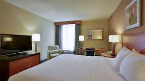Premium bedding, pillow-top beds, in-room safe, desk
