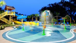 Outdoor pool, open 6:30 AM to 11:00 PM, free pool cabanas