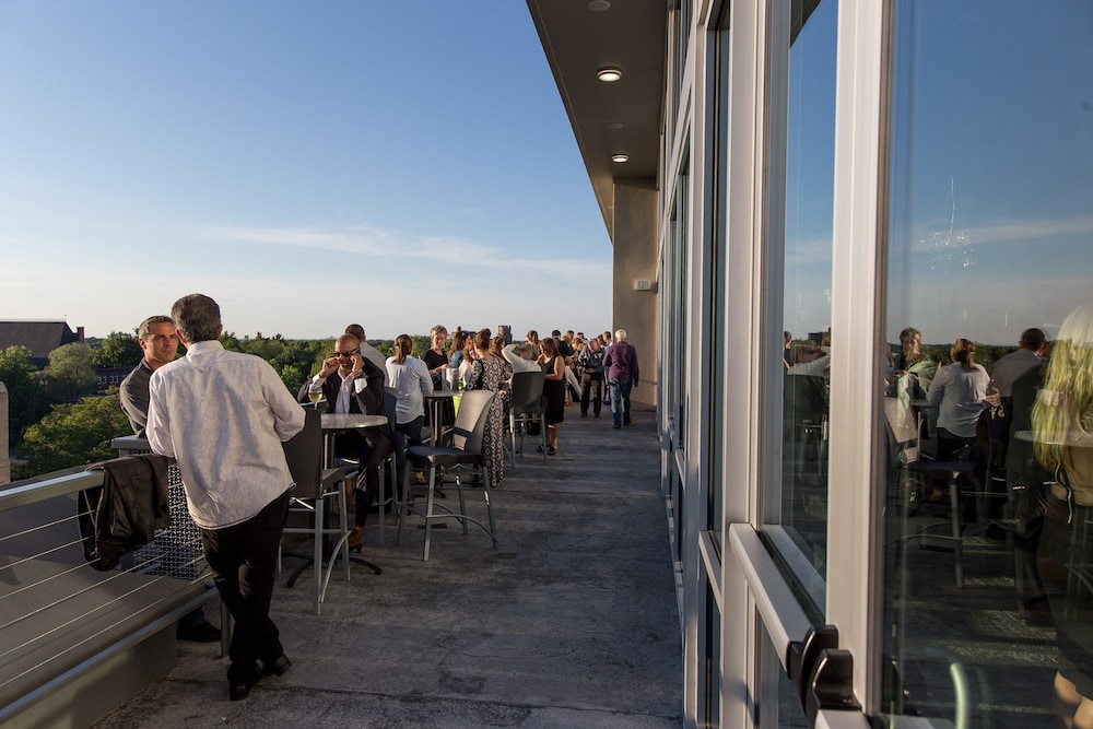 Rooftop terrace, The Strathallan Rochester Hotel & Spa- A DoubleTree by Hilton