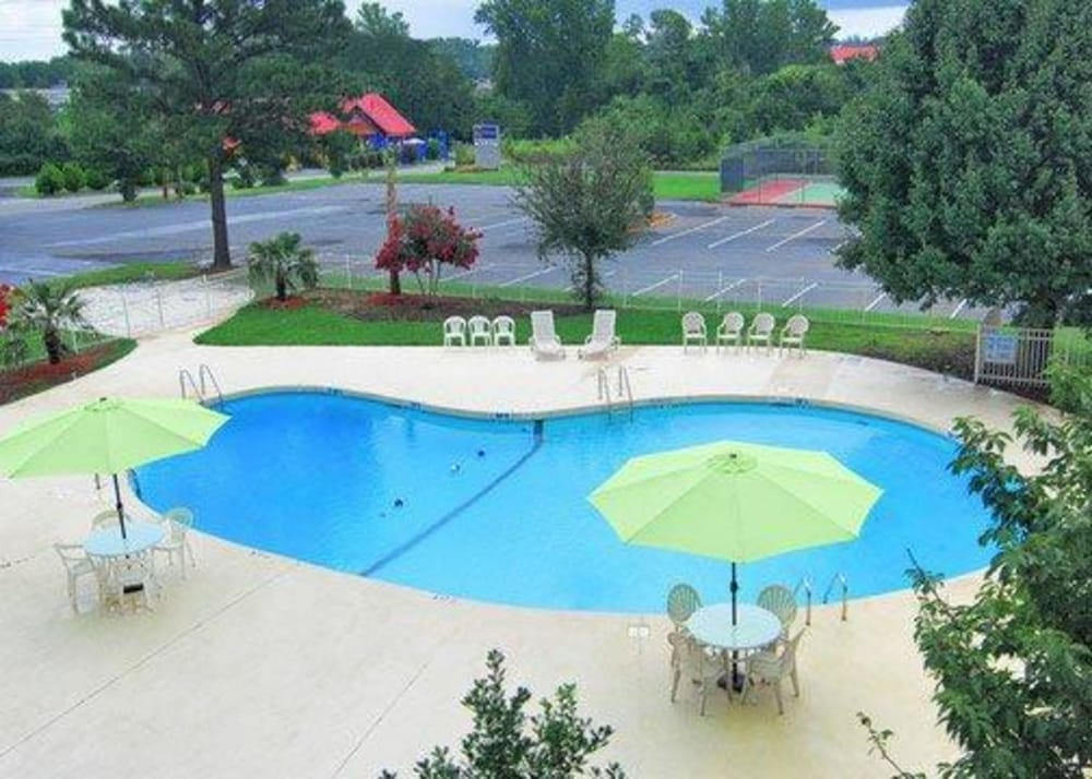 Pool, Clarion Hotel Fort Mill Near Amusement Park