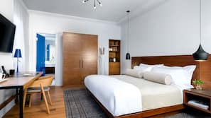 Premium bedding, pillowtop beds, in-room safe, individually furnished