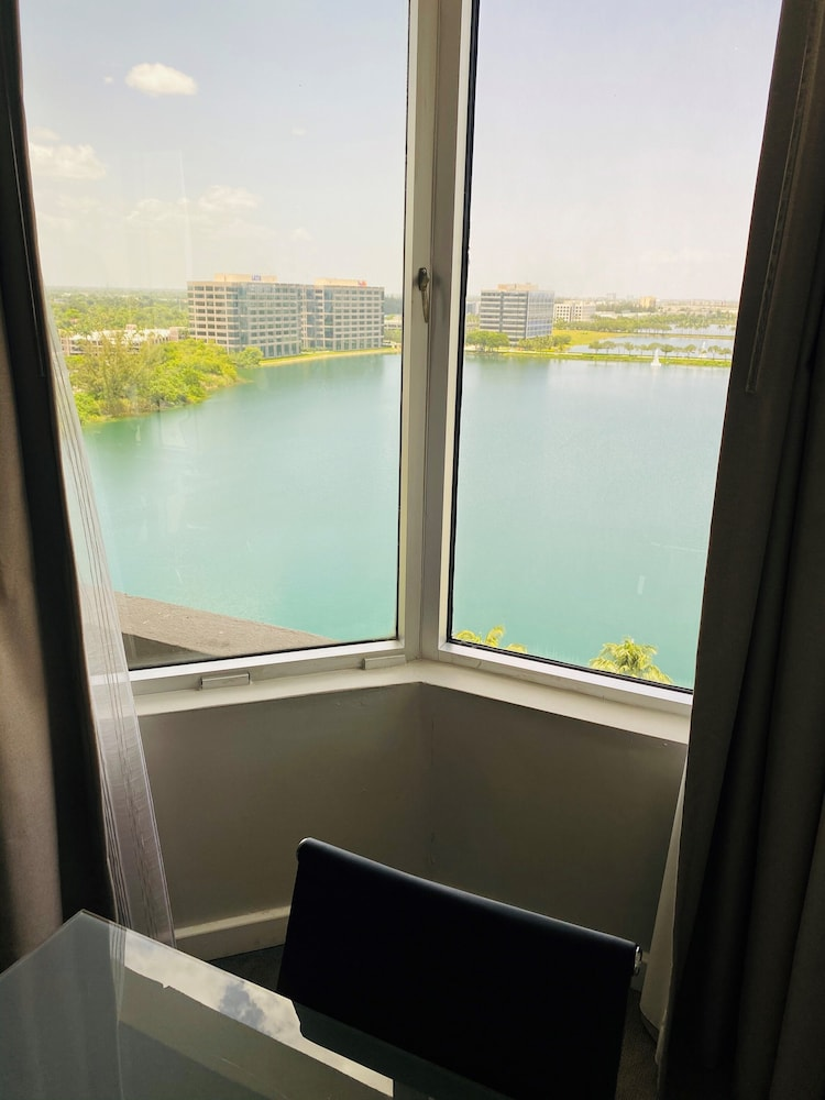 Water view, Pullman Miami Airport