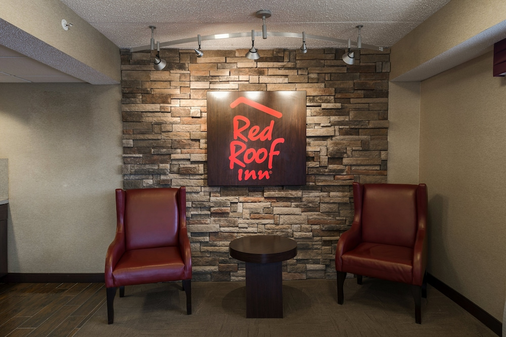 Lobby, Red Roof Inn Chicago - Downers Grove