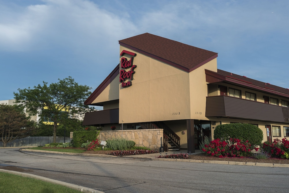 Exterior, Red Roof Inn Chicago - Downers Grove