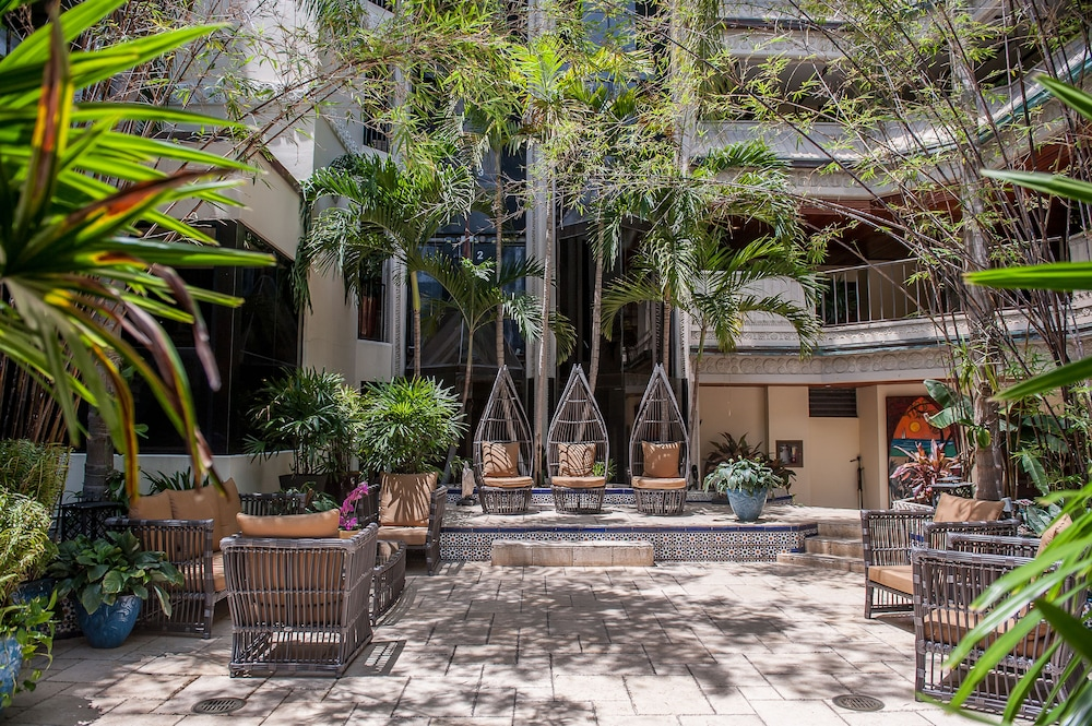 Courtyard, The Mayfair at Coconut Grove