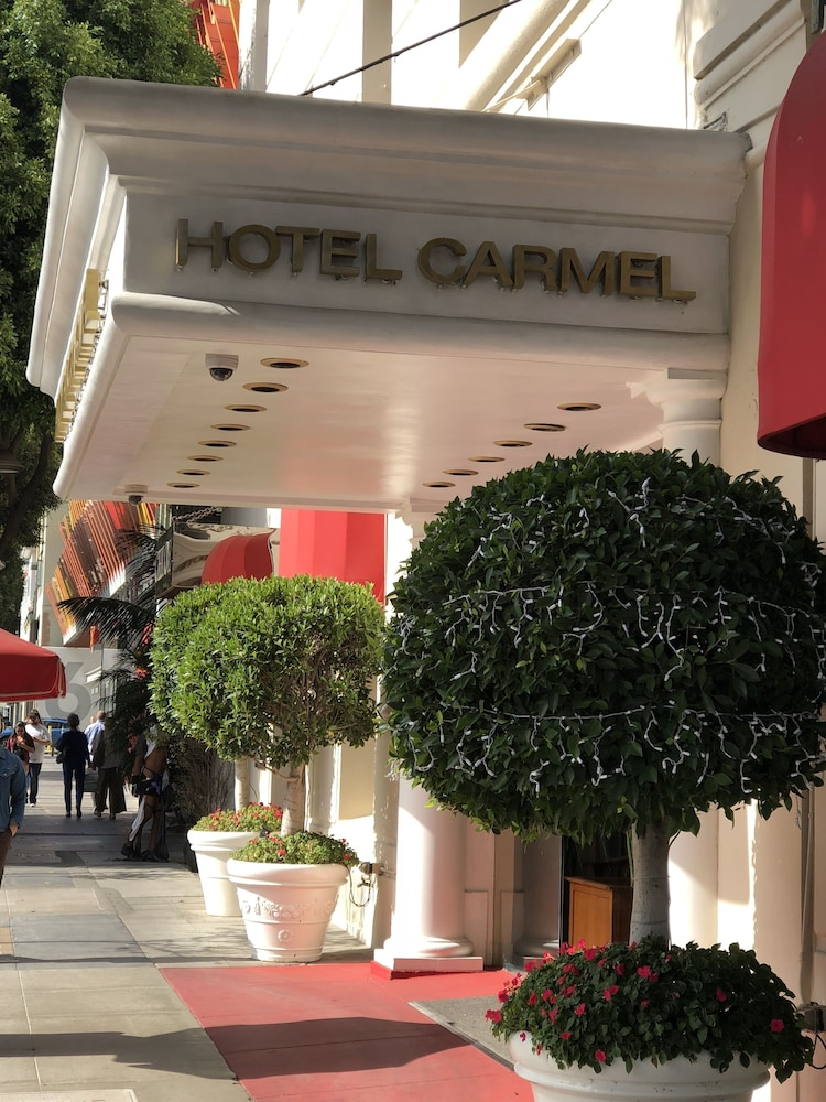 Front of Property, Hotel Carmel