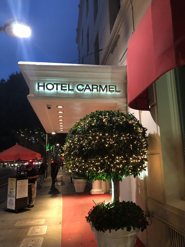 Front of Property - Evening/Night, Hotel Carmel
