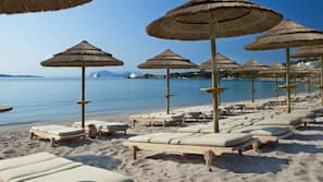 Private beach, waterskiing, windsurfing, beach bar