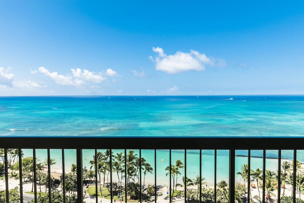 View from Room, Aston Waikiki Beach Tower